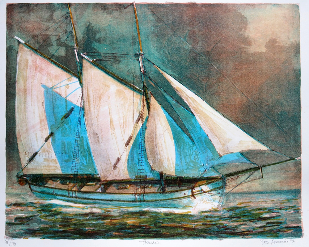 La Bohème - Historic Swedish Schooner