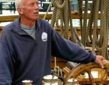 The late Pelle Warnholz, who owned the vessel for almost 50 years.
